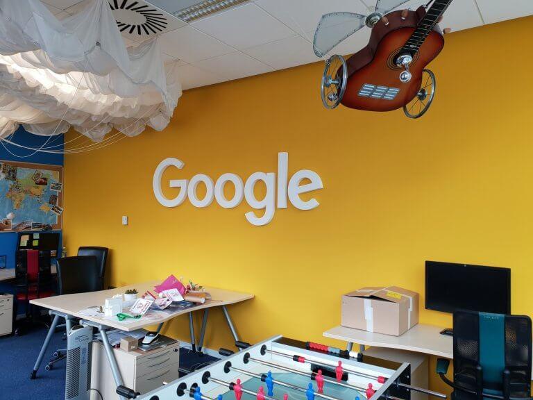 3D logo Google