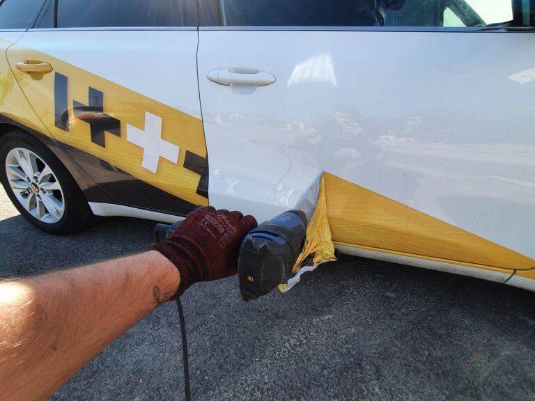 Odstraňovanie auto polepov ITAT