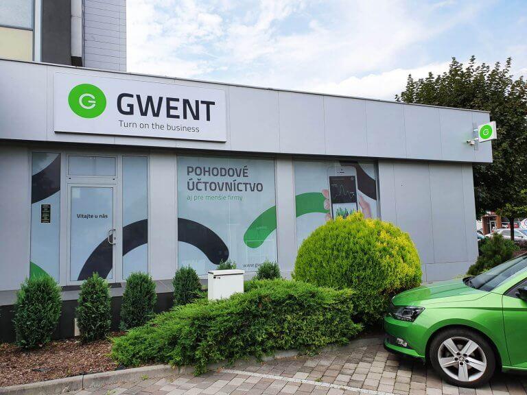 Svetelný box Gwent