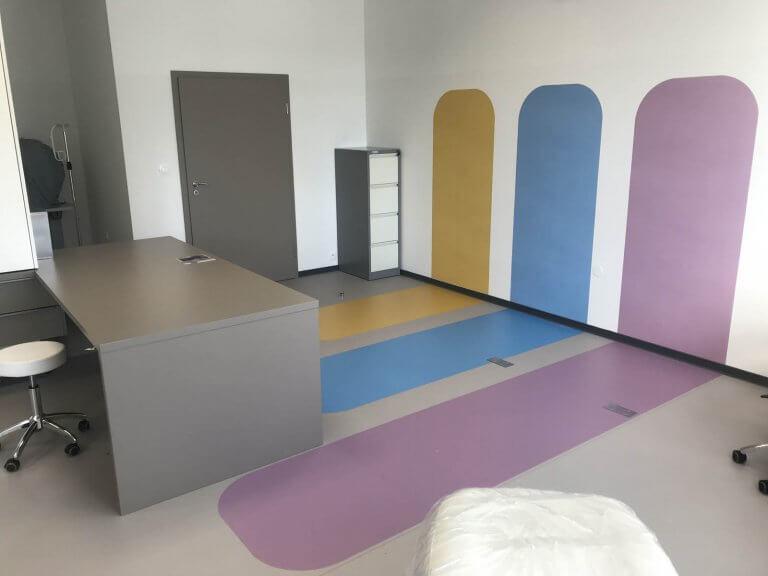 Polep stena + podlaha