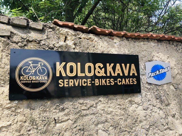 Reklamna tabuľa KOLO & KAVA